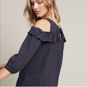 Anthropologie cold shoulder long sleeve by maeve